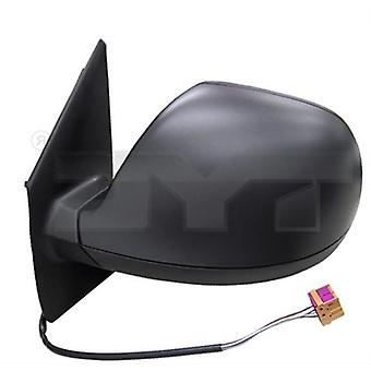Left Wing Mirror (Electric Heated, Black Cover) For VW TRANSPORTER Mk6 2015-2019