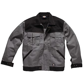 Dickies Mens Industry Two Tone Polycotton Workwear Jacket