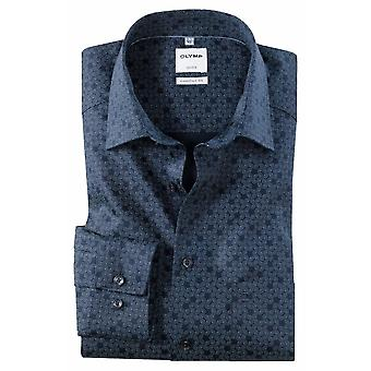 OLYMP Olymp Patterned Formal Shirt