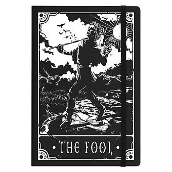 Deadly Tarot The Fool A5 Hard Cover Notebook