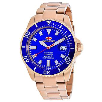 Seapro Men-apos;s Scuba 200 Blue Dial Watch - SP4324
