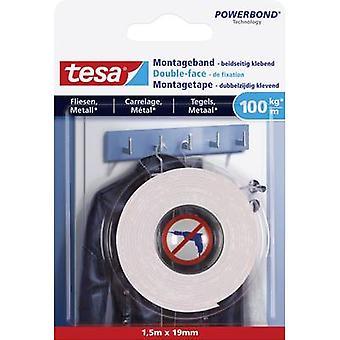 tesa 77746-00000-00 Industriel tape tesa® Powerbond White (L x W) 1,5 m x 19 mm 1 stk(er)