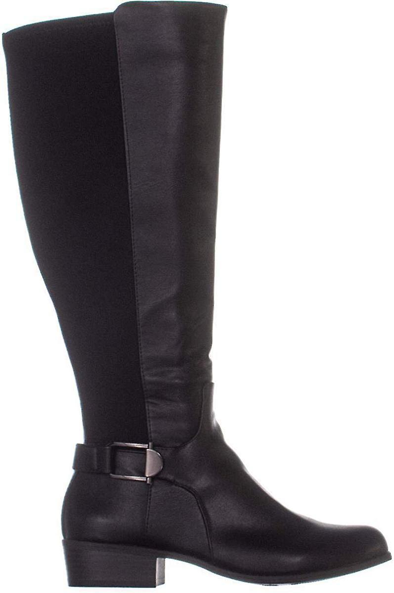A35 Kallumm Wide Calf Knee High Boots, Czarny, 5.5 Usa