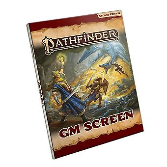 Pathfinder GM Screen Pathfinder RPG Second Edition P2 - Gaming Book