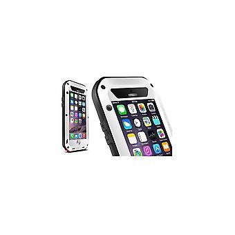 Hull For iPhone 6 Plus / 6s Plus Etanche Antichocs White Aluminium