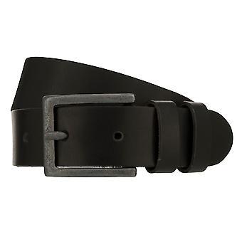 Teal Belt Men's Belt Leather Belt Denim Belt Black 8410