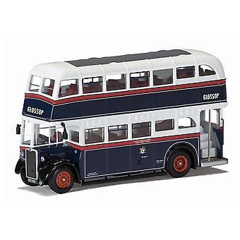 Crossley DD42 Glossop Diecast Model Bus