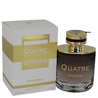 Quatre absolu de nuit eau de parfum spray de boucheron 540743 100 ml