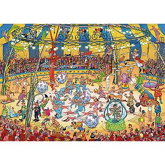 Jan van Haasteren Acrobat Circus puslespill (1000 stykker)