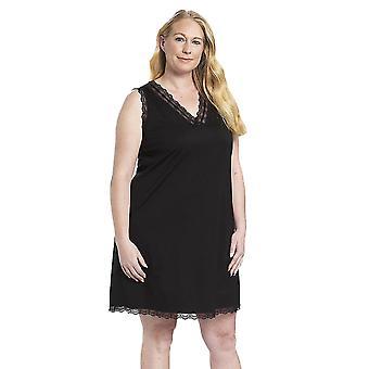 Rosch 1194582-11741 Women's Curve Jet Black Lace Nightdress