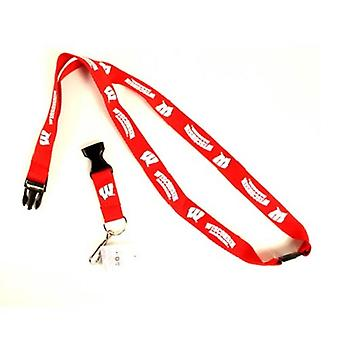 Wisconsin Badgers NCAA Lanyard