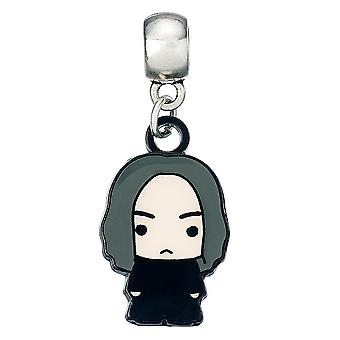 Harry Potter Silver Plated Chibi Snape Charm
