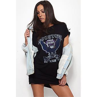Houston übergroße T-Shirt