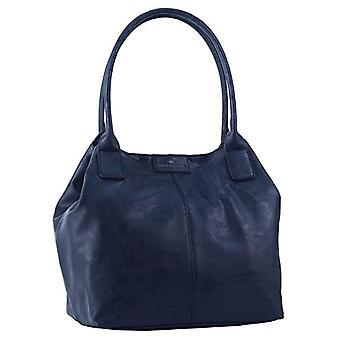 Tom Tailor Acc MIRIPU 10990 Kvinnors Shopper Bag 44x28x18 cm (B x H x T) Blå (Blau (blau 50))