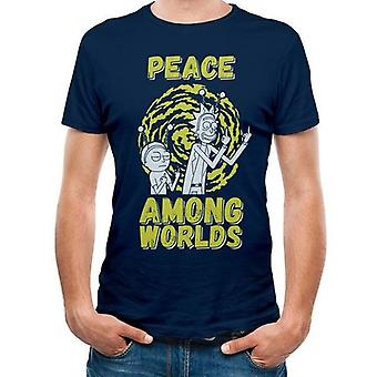 Rick And Morty -  Peace Among Worlds  T-Shirt