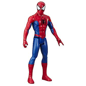 Marvel Spider-Man Titan Héroe Figura Spider Man con explosiva Gear Port