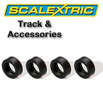 Scalextric accessoires - Rally Pack van 4 Silicon banden