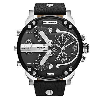 Diesel Men's Daddy 2.0 Chronograph Watch - DZ7313 - Black/Steel
