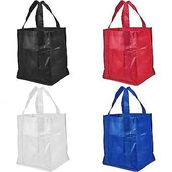 Bullet Savoy Laminated Non-Woven Grocery Tote