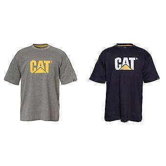 Caterpillar Mens Trademark Logo T-Shirt