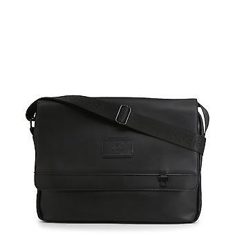 Carrera Jeans Original Heren Lente/Zomer Crossbody Bag Zwarte Kleur - 70615