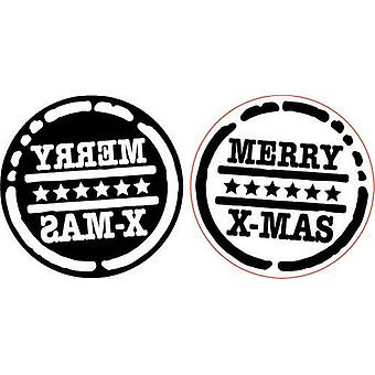 Pronty Foam timbres Merry X-mas 494.001.014 90mm