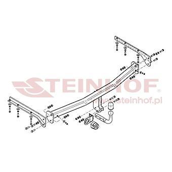 Steinhof Towbar (fixiert 2 Schrauben) für Chrysler VOYAGER mk3 2000-2008