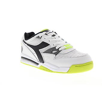 Chaussures Diadora Rebound Ace Mens White Leather Low Top Sneakers