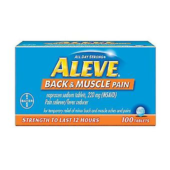 Aleve back & muscle pain, pain reliever/fever reducer, tablets, 100 ea