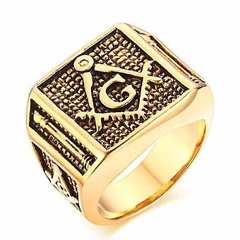 Bold masonic ring