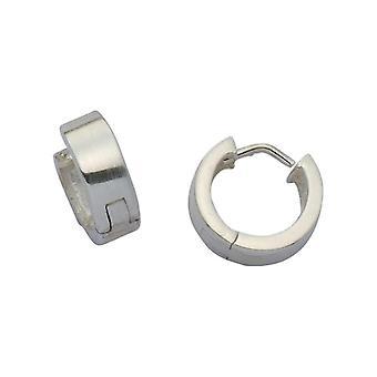 E-10945 - Women's hoop earrings - silver sterling 925