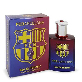Fc Barcelona Eau De Toilette Spray By Air Val International 3.4 oz Eau De Toilette Spray