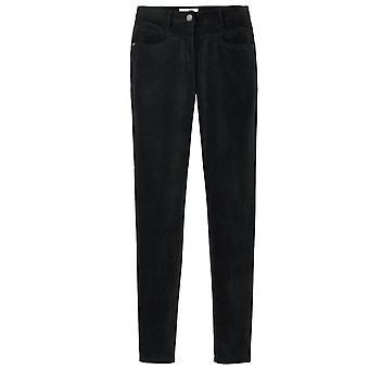 Sandwich Clothing Black Fine Velvet Trousers