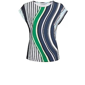 Bianca Striped Design Top