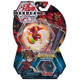 Bakugan Ultra 1 Pack 3 Inch Figure Pyrus Vicerox