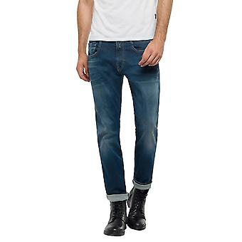 Replay Men's Anbass Hyperflex Jeans Slim Fit
