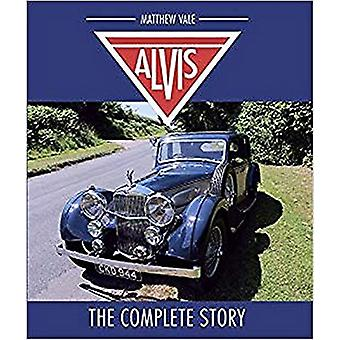 Alvis - The Complete Story by Matthew Vale - 9781785005879 Book