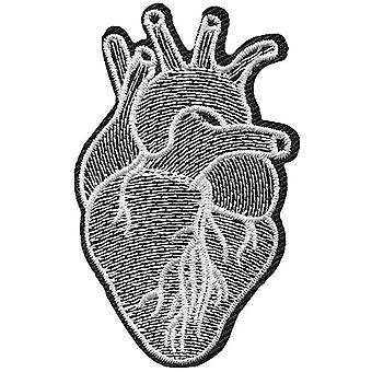 Attitude Clothing Anatomical Heart Iron-On Patch