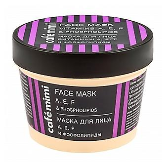 Cafe Mimi Vitamin a,e,f and Phospholipids Face Mask 110 ml