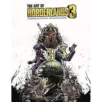 The Art of Borderlands 3 by Chris Allcock - 9781789090819 Book