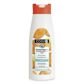 Coslys Shampoo and Shower Gel with Grapefruit 750 ml