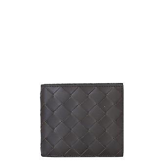 Bottega Veneta 605721vcpq48997 Men's Brown Leather Wallet