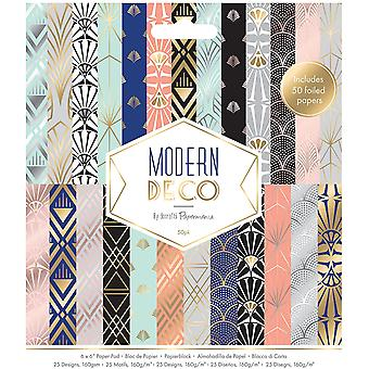 Papermania Modern Deco 6x6 Inch Paper Pad