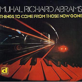 Muhal Richard Abrams - cosas para importar de USA vienen de los ahora [CD]