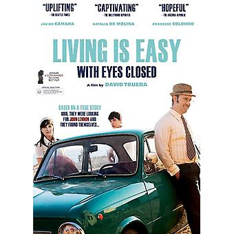Living Is Easy with Eyes Closed [DVD] USA import