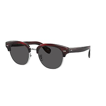 Oliver Peoples Cary Grant 2 Sun OV5436S 1675R5 Bordeaux Bark/Carbon Grey Sunglasses