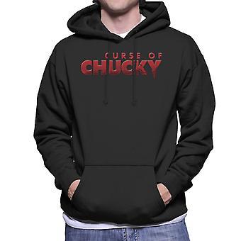 Chucky Curse-logo miesten ' s huppari