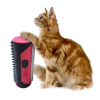 Pet Dog Cat Puppy Hair Remover Lint Rolling Brush & Sofa Carpet Cleaning Comb