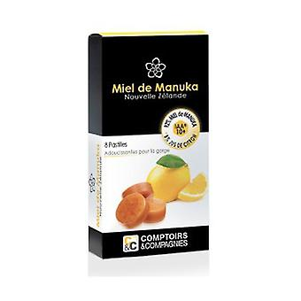 100% Manuka Honey 10 lozenges and Lemon Juice 8 pellets of 20g