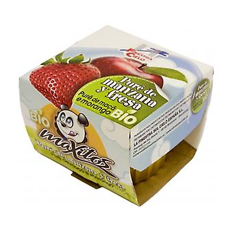 Apple and Strawberry Puree 200 g